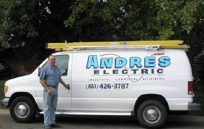 Andre's Electric Van - White Bear Lake, MN - Master Electrician
